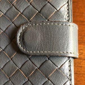 Bottega Veneta Bags - Bottega Veneta Light Grey Nappa Continental Wallet